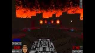 getlinkyoutube.com-Brutal Doom v19 Real Icon of Sin map gameplay