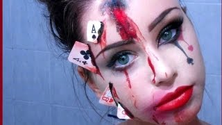 getlinkyoutube.com-Halloween Makeup - BROKEN HEART (ft. Dada Rose)