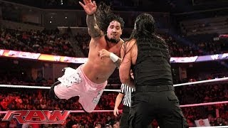 The Usos vs. The Shield: Raw, Oct. 21, 2013