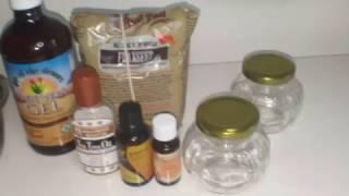 Flaxseed Hair Gel with Aloe Vera Gel & Essential Oils