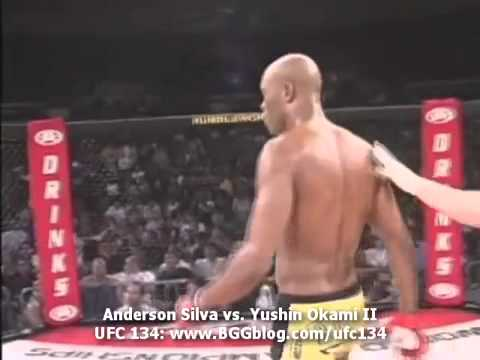 Anderson Silva vs Yushin Okami  UFC 134 Rio - Rumble on the Rock 8 Full Fight - Luta Inteira)