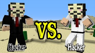 getlinkyoutube.com-Hacker vs. Hacker - Minecraft