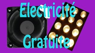 getlinkyoutube.com-Electricité gratuite, montage très simple