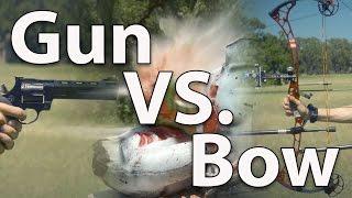 getlinkyoutube.com-Demolition Ranch vs. ArcheryTalk (Gun vs. Bow)