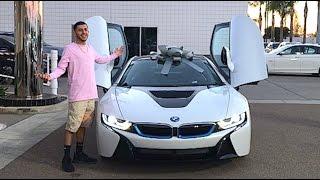 getlinkyoutube.com-MY BRAND NEW CAR!! BMW i8