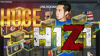 HUGE 40 H1Z1 CRATE OPENING!!
