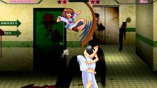 getlinkyoutube.com-[M.U.G.E.N] Suzumiya Haruhi VS Ella