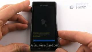 getlinkyoutube.com-Hard Reset Motorola Milestone 2 How-To