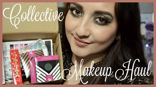 getlinkyoutube.com-COLLECTIVE MAKEUP HAUL - YSL, Estee Lauder, Makeup Geek & More