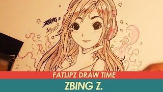Fatlipz Draw Time - แป้ง Zbing z.