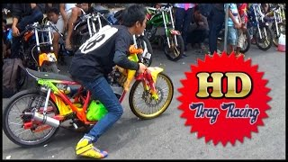getlinkyoutube.com-DRAG BIKE SUASANA NYETING MOTOR DIPADOCK PALING BERBAHAYA
