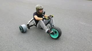 getlinkyoutube.com-It is restored in three hours by heavy crash. Motorized drift trike