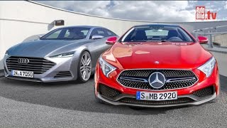 getlinkyoutube.com-Insider - Audi A7 & Mercedes CLS (2017-2019)