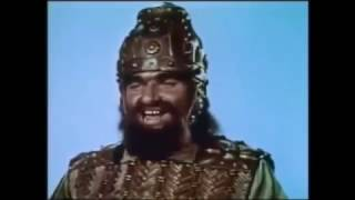 getlinkyoutube.com-The future King David fights Goliath: Valley of Elah, Israel, ca. 1010 BC