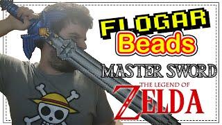MASTER SWORD THE LEGEND OF ZELDA - DIY- Tutorial Pearl/Hama Beads para Gamers - FloGar o.O