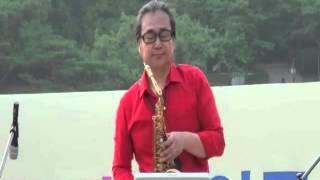getlinkyoutube.com-[KASA-TV] 찰리박 - 안동역에서 Alto Sax (진성) 알토색소폰연주 14 07 13