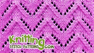 Chevron | Lace Knitting #29