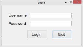 Create Login Window in C# Using Sql Server