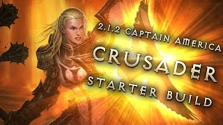 getlinkyoutube.com-Best 2.1.2 Crusader Starter Build: Captain America - Diablo 3 Reaper of Souls Guide Season 2