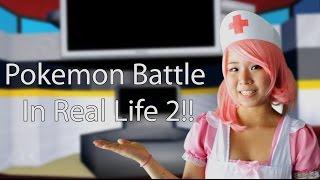 getlinkyoutube.com-Pokemon Battle in Real Life 2!