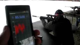 "getlinkyoutube.com-""Silenced"" .223 firing Extreme Shock full cycle subsonic ammo"