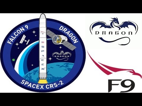 Spacex Falcon 9 NASA Launch Dragon CRS-2 to ISS from 1 Mile Away