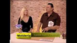 Hermenegildo Zampar - Bienvenidas TV - Explica el molde base de la espalda.