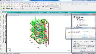 STAAD Pro Tutorials - Design Different Slabs including Staircase of Multistorey Building ( Day 3 )
