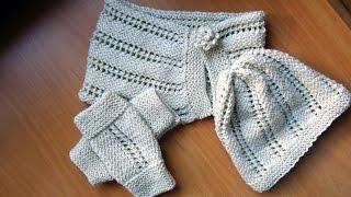 getlinkyoutube.com-Rukavice, kapa i šal (Gloves, Hat & Scarf Set)