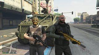getlinkyoutube.com-GTA 5 Funny/Brutal Kills Insurgent Pick Up Rampage Episode 16