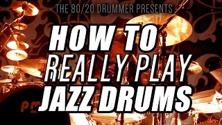 getlinkyoutube.com-How to (Really) Play Jazz Drums 1 - The 80/20 Drummer