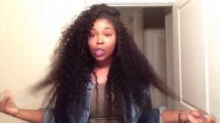 getlinkyoutube.com-Aliexpress | VIP Beauty Hair Brazilian Deep Curly Initial Review