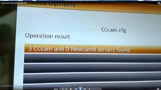 getlinkyoutube.com-mettre serveur cccam vision hd600 660 670طريقة تمرير سيرفر لجهاز استقبال فيزيون
