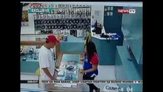 SONA: Pagnanakaw sa isang tindahan ng cellphone sa mall, nakunan ng CCTV