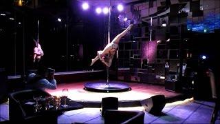 getlinkyoutube.com-Pole Dolls - Chandelier (Paula Bianca) | Sage Bar