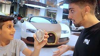 getlinkyoutube.com-The Kid who Gave me a Bugatti ...