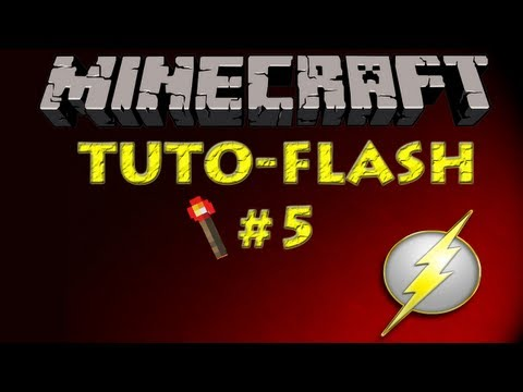 Minecraft Zaragoza - Tutorial Redstone Flash #5 - Cascada ch