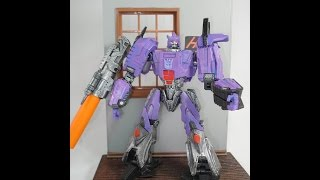 getlinkyoutube.com-CUSTOM GALVATRON fall of cybertron style by Hunter Knight customs