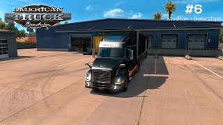 getlinkyoutube.com-American Truck Simulator 2016 Gameplay Mod Volvo VNL 64t + G27