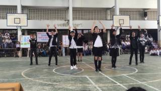 Ambition cover Got7 and Bts - Fly + Fire + 102030 + หนุ่มฟ้อ @Lampang Kanlayanee School 24/06/2016