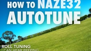 How to Naze32 Autotune