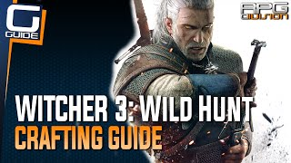 getlinkyoutube.com-Witcher 3: The Wild Hunt - Crafting Guide (Silver Ingots, Swords, Armor...)