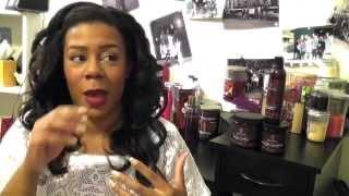 getlinkyoutube.com-My Scalp Condition: Why I Wear Wigs / 2 Month WowAfrican Italian Yaki Wig Update