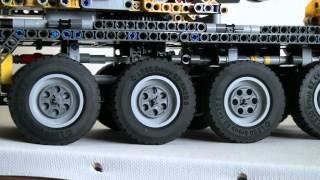 getlinkyoutube.com-Lego Technik Schwerlast-Kran Motorisiert