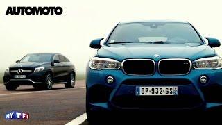 getlinkyoutube.com-Defi: BMW X6 M vs Mercedes GLE Coupé 63 AMG. Quelle est la plus rapide ?