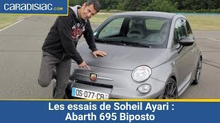 getlinkyoutube.com-Les essais de Soheil Ayari :Abarth 695 Biposto