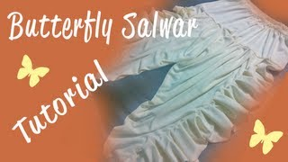 getlinkyoutube.com-♥ How to make a Butterfly Salwar ♥