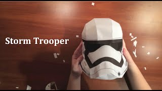 getlinkyoutube.com-Stormtrooper Paper Helmet