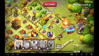 getlinkyoutube.com-Gold Dragon Boss ElDorado Clash of Lords 2