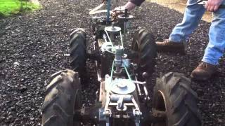 getlinkyoutube.com-Homemade Tractor MF 1200 test drive 'Baby Steps'